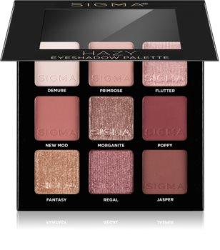 Sigma Beauty Eyeshadow Palette Rosy палитра от сенки за очи