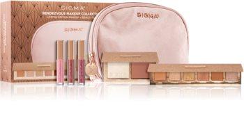 Sigma Beauty Rendezvous Makeup Collection Set (für Lippen und Wangen) für Damen