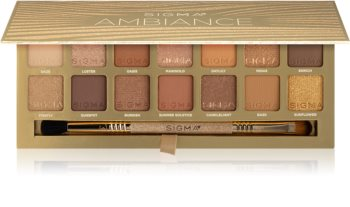 Sigma Beauty Ambiance Eyeshadow Palette palette de fards à paupières