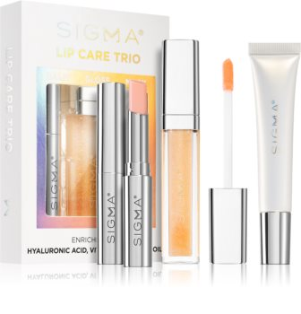 Sigma Beauty Lip Care Trio козметичен комплект (за устни)