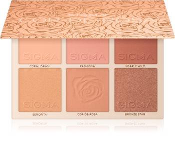 Sigma Beauty Cor-de-Rosa Blush Palette paleta tvářenek