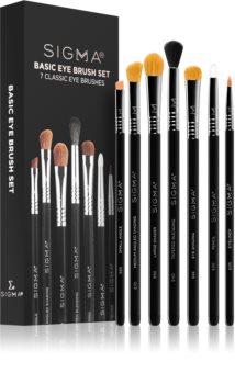 Sigma Beauty Basic Eye Brush Set комплект четки  (за очи)