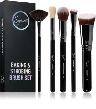 Sigma Beauty Baking & Strobing set de brochas