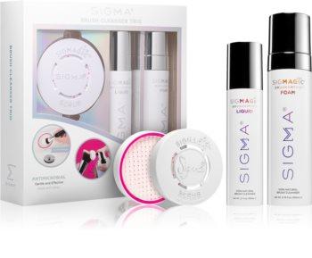 Sigma Beauty Brush Cleanser Trio комплект за почистване на четки