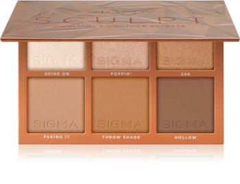 Sigma Beauty Sculpt Konturier-Palette für die Wangen