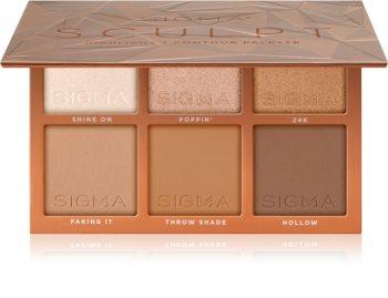 Sigma Beauty Sculpt paleta para contorno de rosto