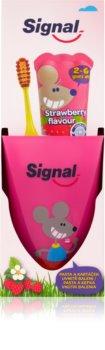 Signal Kids set pentru curatarea perfecta a dintilor II. pentru copii