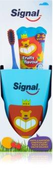 Signal Kids set para una higiene bucal perfecta I. (para niños ) para niños