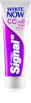Signal White Now CC λευκαντική οδοντόκρεμα για πλήρη φροντίδα
