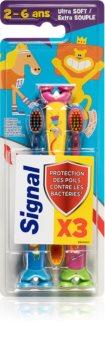 Signal Kids Zahnbürste für Kinder (vorteilhafte Packung)