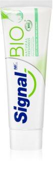 Signal Bio Natural Freshness Tandkräm för frisk andedräkt