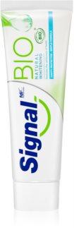 Signal Bio Natural Whitening bleichende Zahnpasta