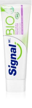 Signal Bio Natural Protection подсилваща паста за зъби