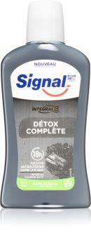 Signal Natural Elements Charcoal ополаскиватель для полости рта с активированным углем