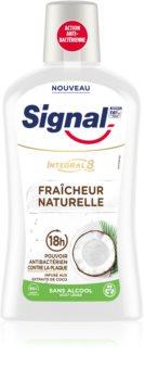 Signal Natural Elements Coco Mundwasser für den vollständigen Schutz der Zähne