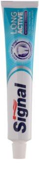 Signal Long Active Intensive Cleaning creme dental com microgramas para uma limpeza completa dos dentes