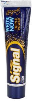 Signal White Now Triple Power Gold зубная паста с отбеливающим эффектом