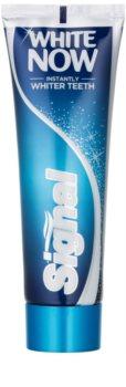 Signal White Now зубная паста с отбеливающим эффектом