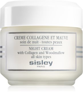 Sisley Night Cream with Collagen and Woodmallow crème de nuit raffermissante au collagène