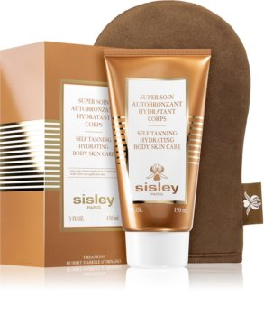 Sisley Super Soin Self Tanning Hydrating Body Skin Care автобронзант мляко за тяло