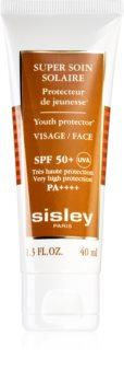 Sisley Super Soin Solaire vízálló napozó krém az arcra SPF 50+