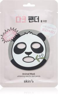 Skin79 Animal For Dark Panda rozjasňující plátýnková maska