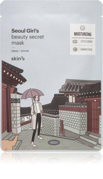 Skin79 Seoul Girl's Beauty Secret mască textilă hidratantă