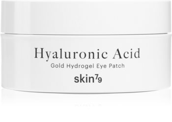 Skin79 24k Gold Hyaluronic Acid hidrogel maska za područje oko očiju s hijaluronskom kiselinom