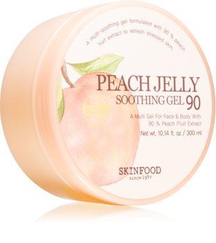 Skinfood Peach nyugtató gél arcra és testre