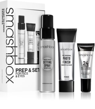 Smashbox Prep & Set for Face and Eyes kosmetická sada (pro ženy)