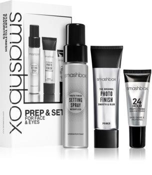 Smashbox Prep & Set for Face and Eyes Set (für Damen)