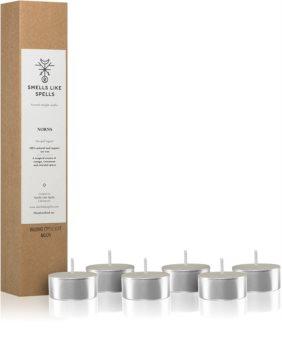 Smells Like Spells Norse Magic Norns čajna sveča (luck/success)
