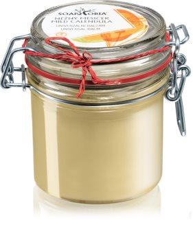 Soaphoria Mild Calendula hloubkově vyživující máslo na obličej a tělo