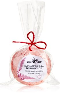 Soaphoria Romantic Rose Antistress-Badebombe mit regenerierender Wirkung