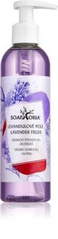 Soaphoria Lavender Fields természetes tusoló gél
