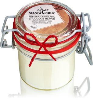 Soaphoria Chocolate Heaven huile de coco bio
