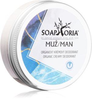 Soaphoria Soapgasm Men déodorant crème bio pour homme
