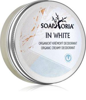 Soaphoria In White Organic Cream Deodorant for Women
