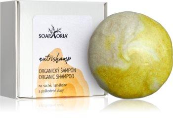 Soaphoria Hair Care șampon organic solid pentru păr uscat și deteriorat