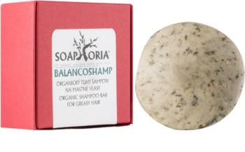 Soaphoria Hair Care champô sólido orgânico para cabelo oleoso