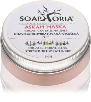 Soaphoria Askam čistiaca maska pre dehydratovanú suchú pleť