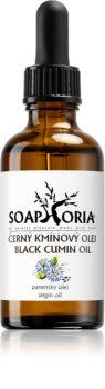 Soaphoria Organic huile de cumin noir pour peaux à problèmes, acné