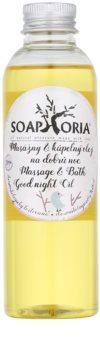 Soaphoria Babyphoria óleo de massagem e banho para uma noite tranquila para crianças