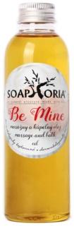 Soaphoria Be Mine óleo para banho e massagem