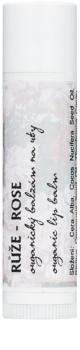 Soaphoria Lip Care balsamo organico per labbra alla rosa