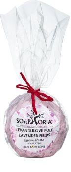 Soaphoria Lavender Fields bola de banho com efeito regenerador