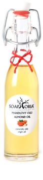 Soaphoria Organic óleo de amêndoas