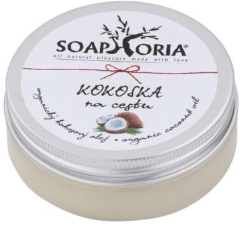Soaphoria Organic óleo de coco de viagem