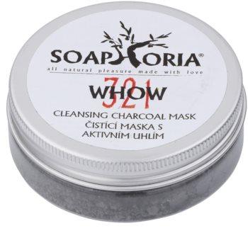 Soaphoria Organic maschera detergente con carbone attivo in polvere
