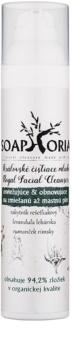 Soaphoria Royal Facial Cleanser leche limpiadora renovadora y refrescante para pieles grasas y mixtas